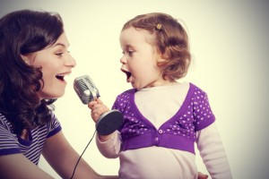 Mother-and-Daughter-Singing