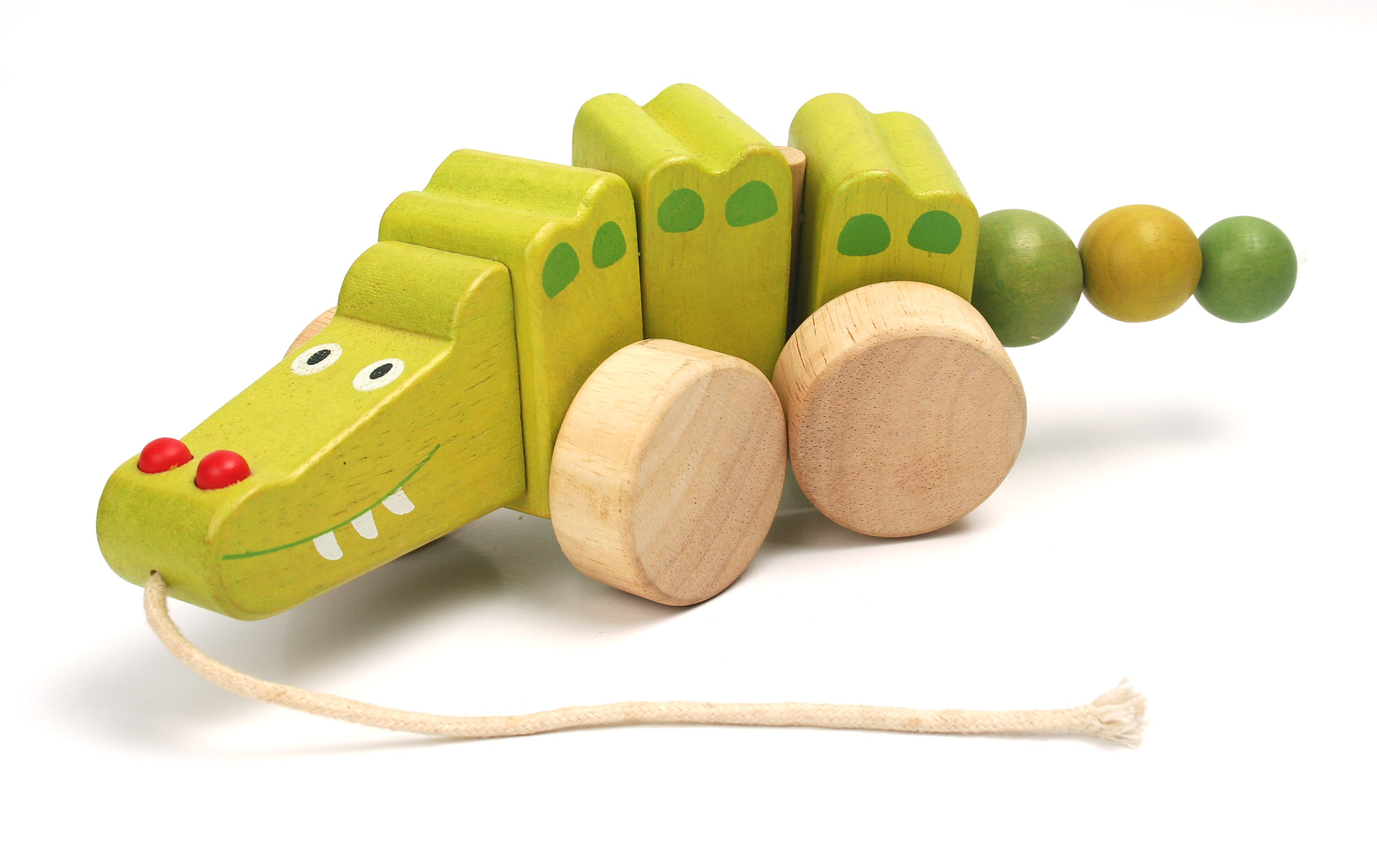Pino Pull Along Toy Alligator Pino Toys